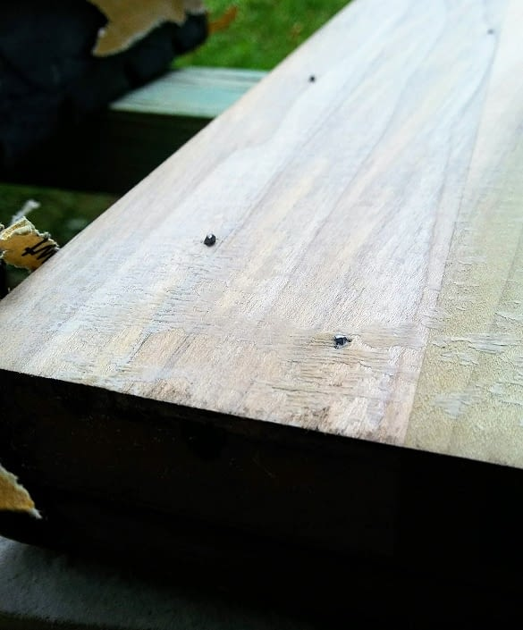 nails on back of buffet door