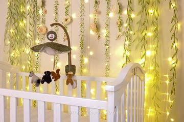 custom woodland forest baby mobile
